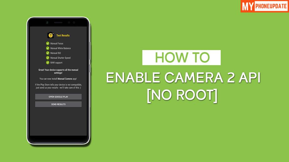 Enable Camera 2 API On Redmi Note 5 Pro Without Root  This