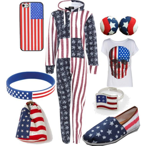 """Comfy 4th of July"" by olliegmich493 on Polyvore"