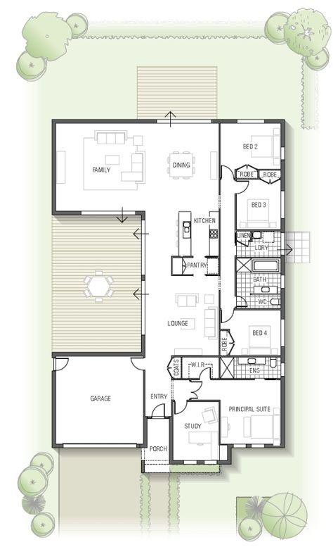 épinglé Par Kei N Sur Home Decor Plan Maison 150m2 Maison