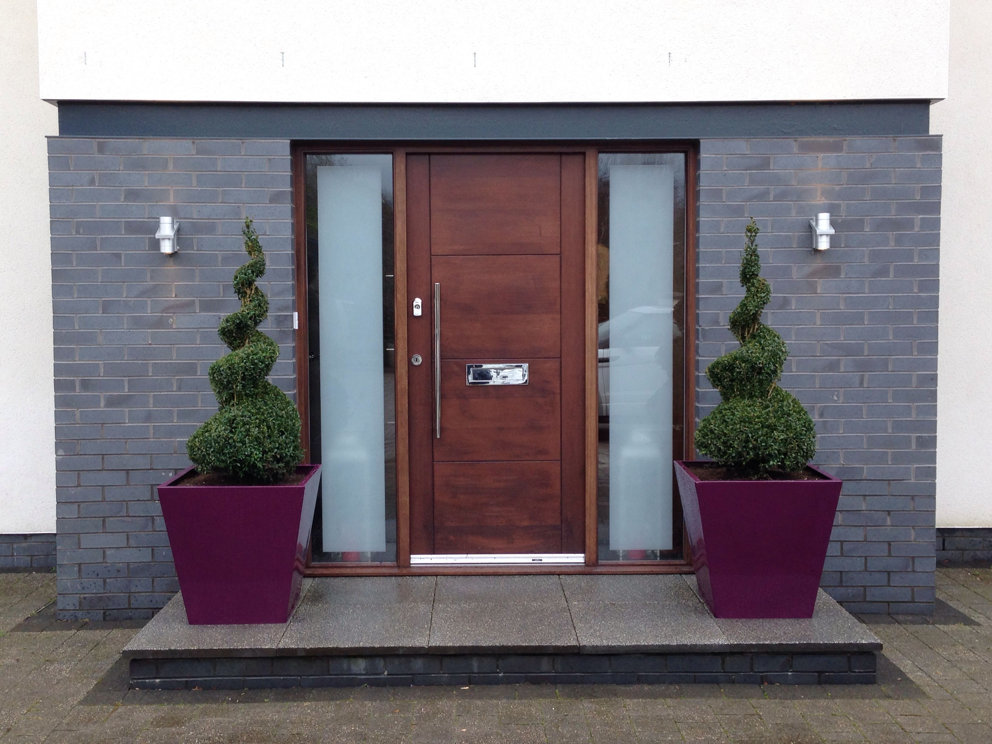 tile wood home custom outdoor planters door mouldings wonderful designs for front lap traditional plus ideas entry cool with oak mat black and pots flooring siding design decoration accessories plant your also planter