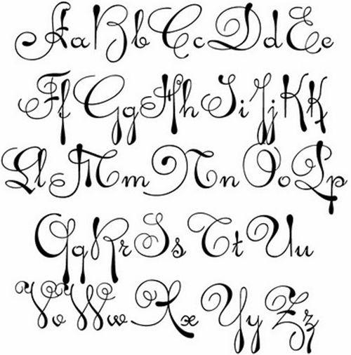 Image Result For Fancy Fonts