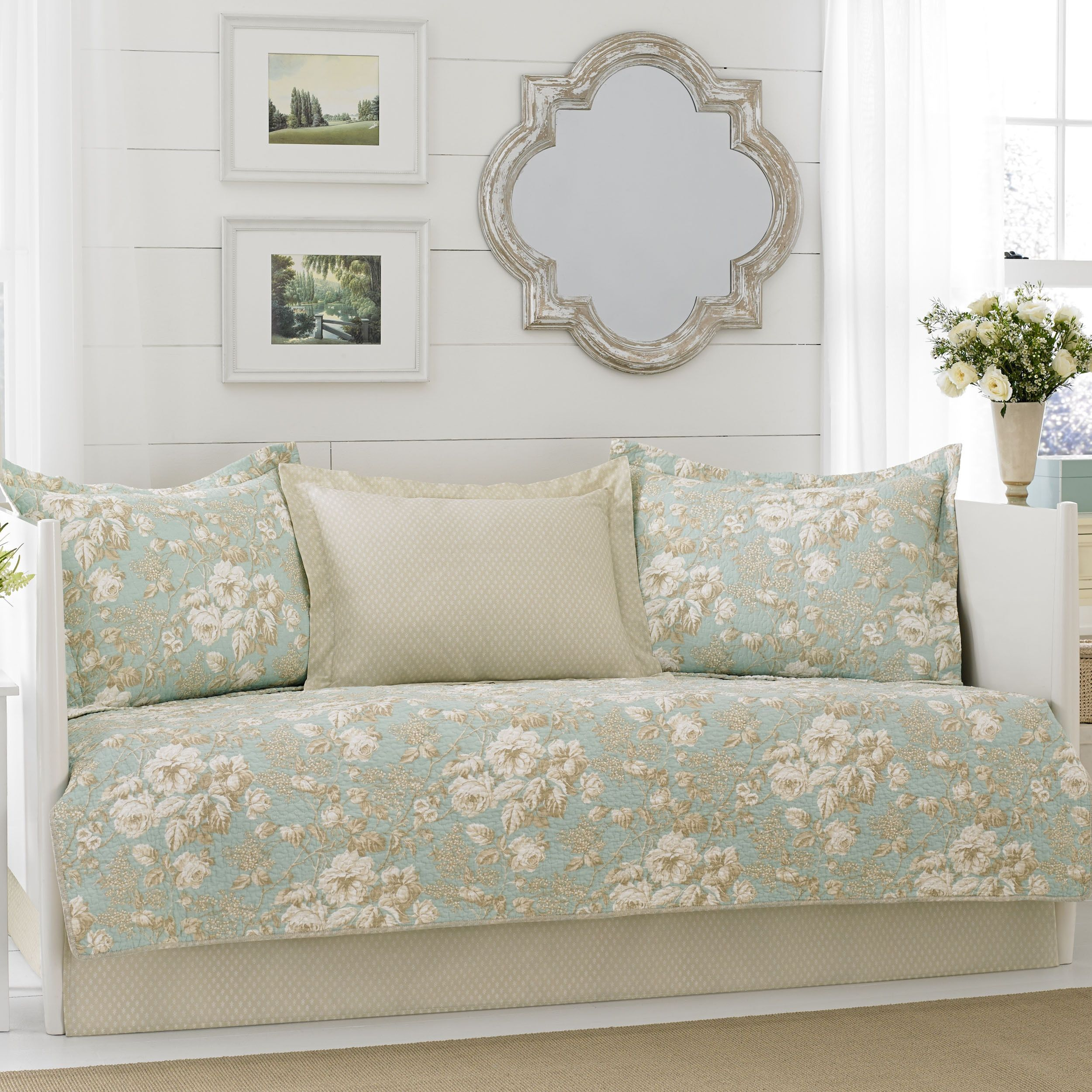 Laura ashley brompton serene piece daybed cover set by laura