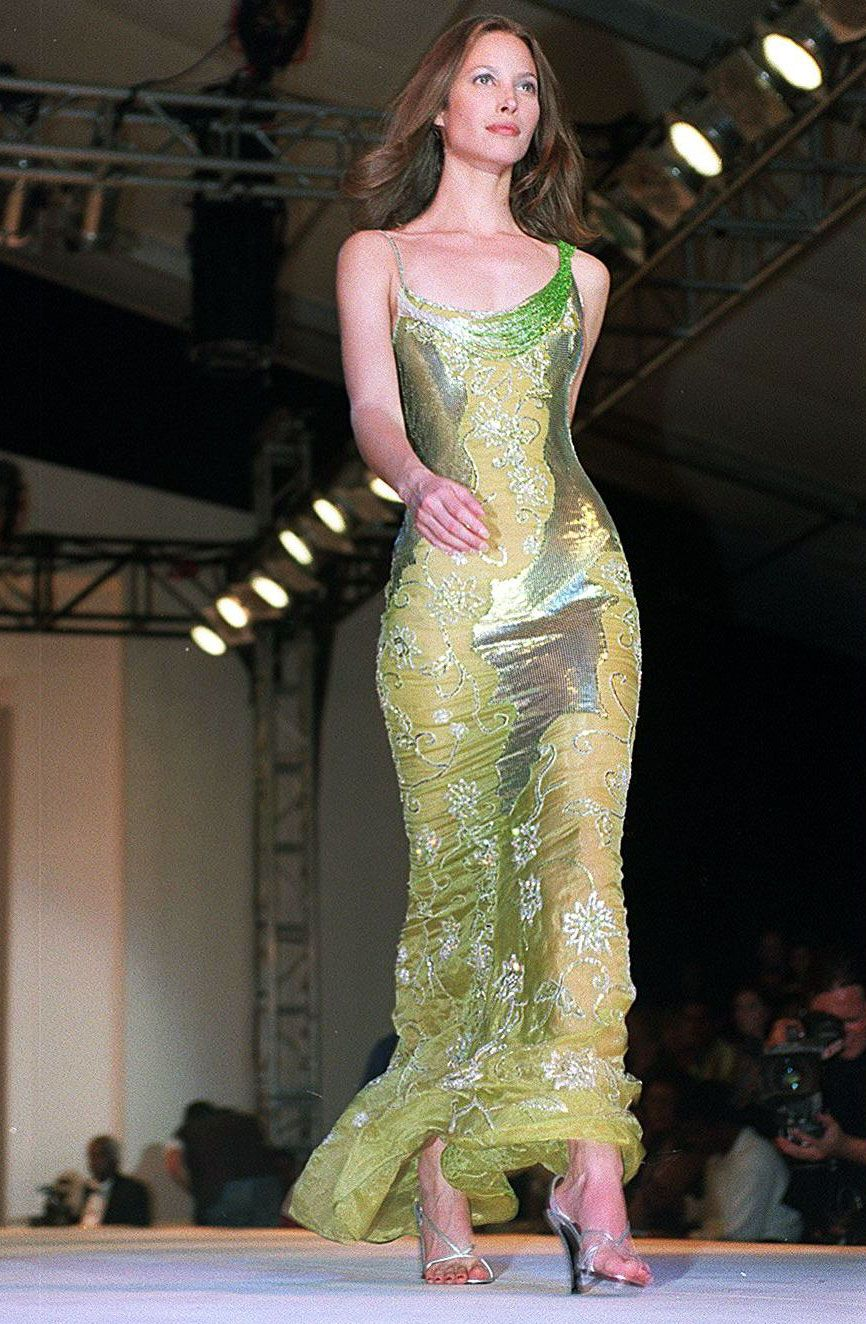 Gianni Versace Haute Couture charity auction, Cape Town, South Africa; Feb. 14, 1998   - MarieClaire.com
