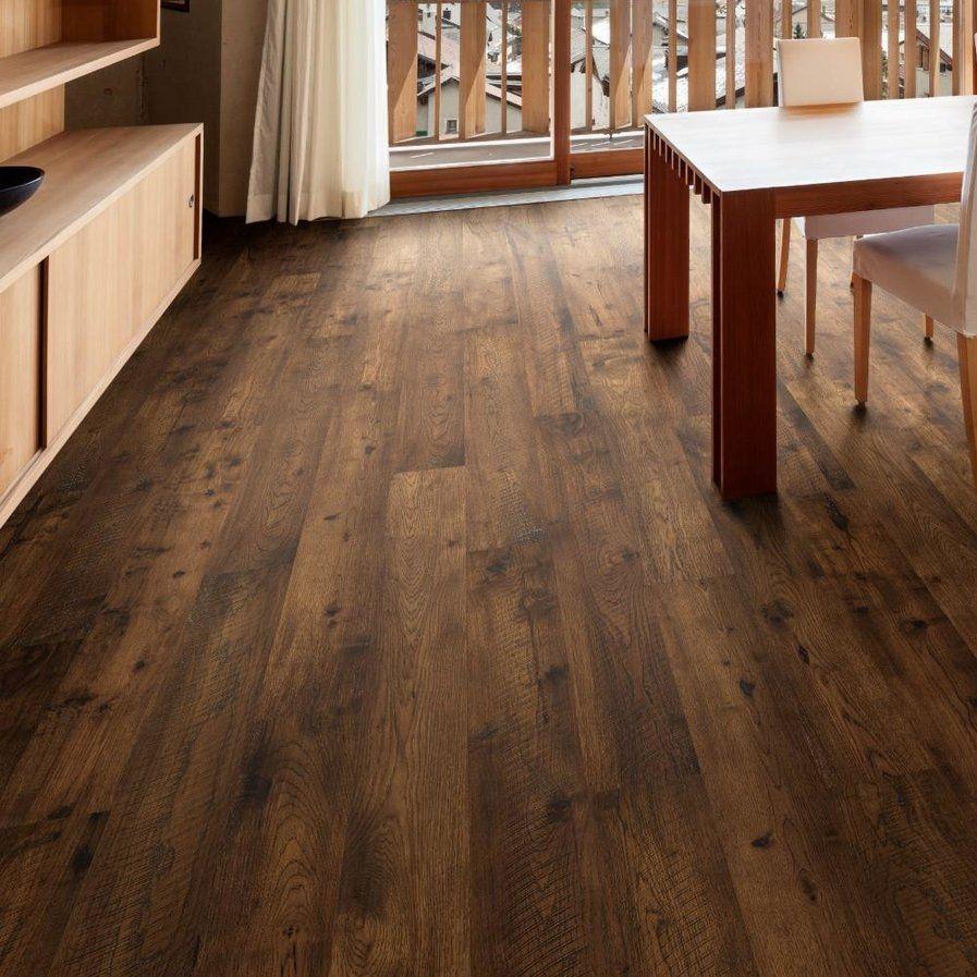 """Easoon Usa 5 Engineered Manchurian Walnut Hardwood: Forge 7-1/2"""" Engineered Hickory Hardwood Flooring In Brown"""