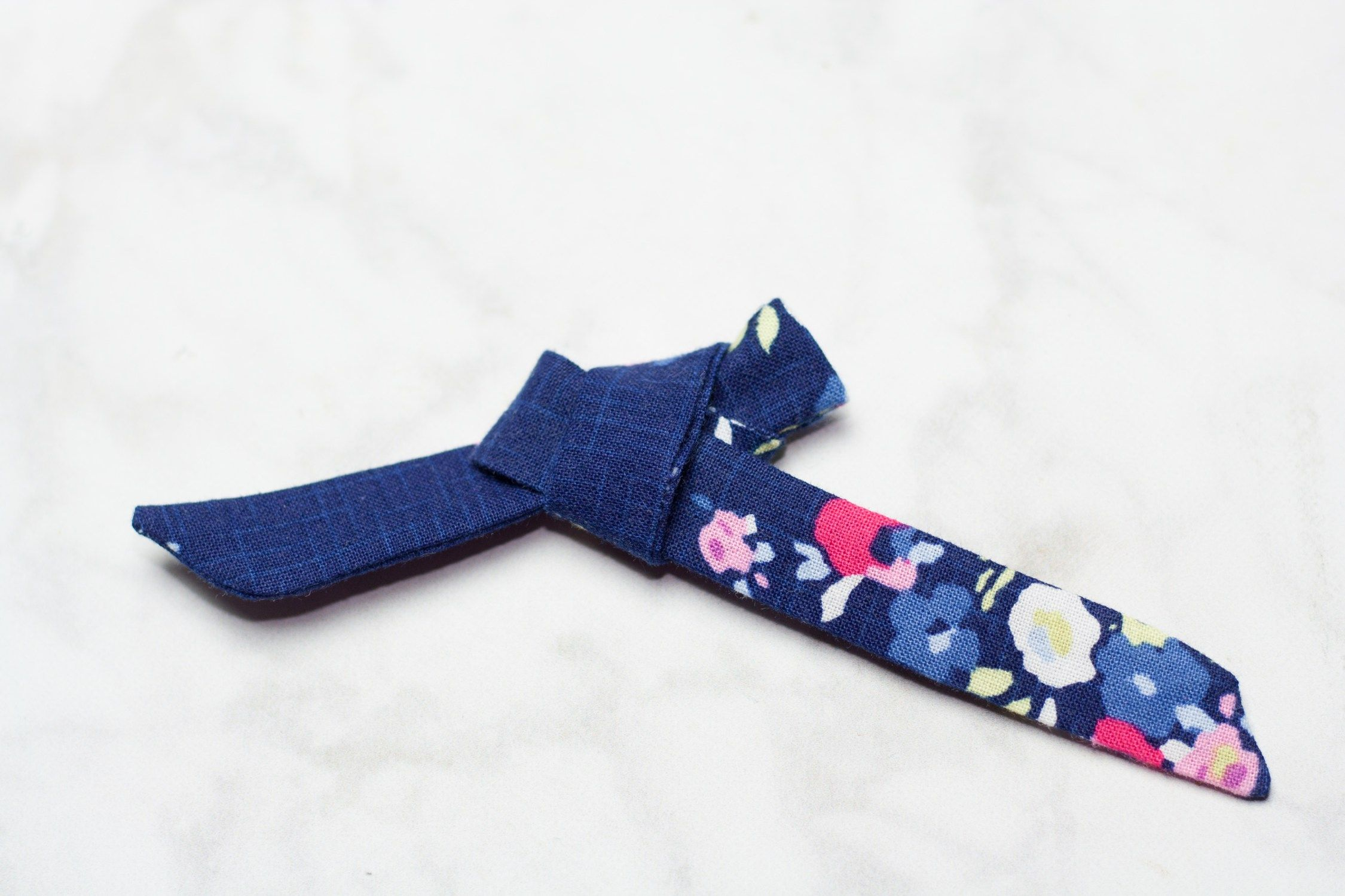 How To Make a Simple Bow Sewing Tutorial   DIY