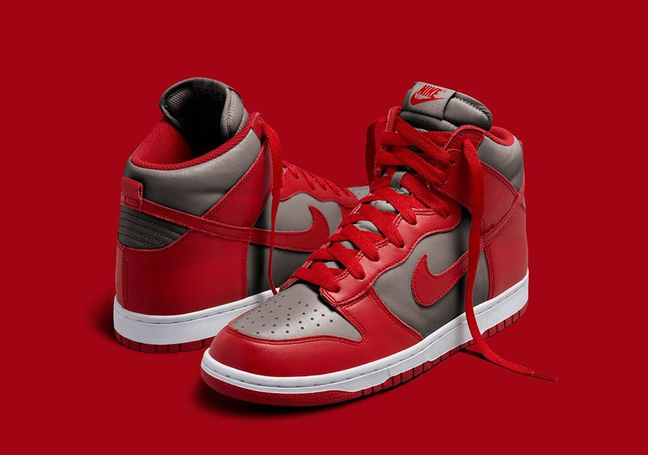 Nike Dunk High Michigan & UNLV Release Date | SneakerNews.com