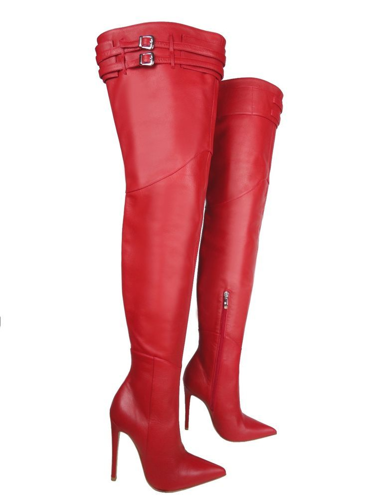 finest selection 43ec9 02acc CQ COUTURE CUSTOM HEELS OVERKNEE BOOTS STIEFEL STIVALI ...