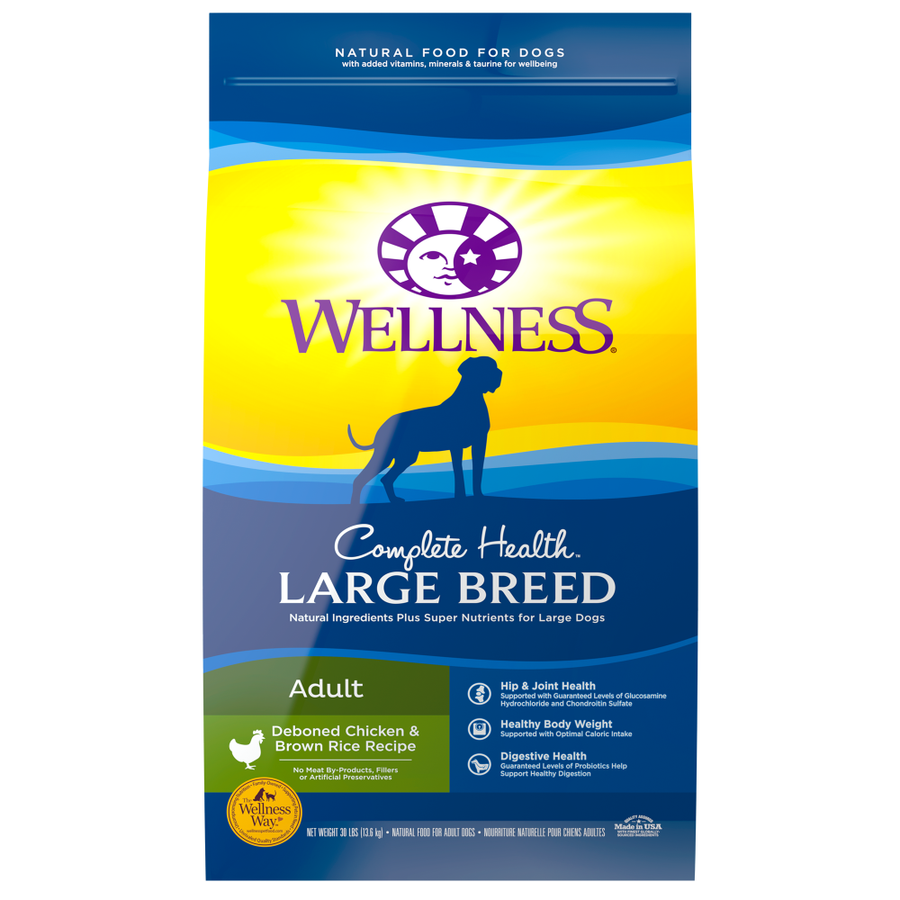 Wellness Complete Health Natural Large Breed Adult Chicken