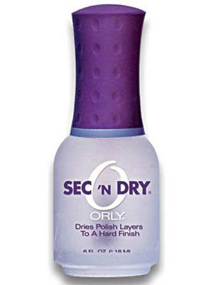 Beauty Secret Weapons: This tricked-out top coat extends the life of your polish and quickly dries down to the bottom layer of your lacquer.
