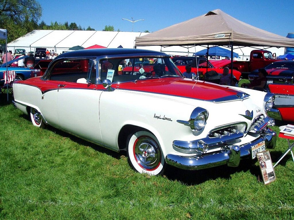 1955 dodge royal lancer convertible cream black fvr cars - 1955 Dodge Custom Royal Lancer 2 Door Hardtop