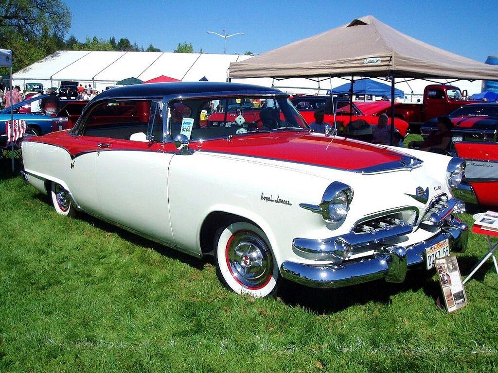 1955 dodge custom royal lancer 4 door sedan 15699 - 1955 Dodge Custom Royal Lancer 2 Door Hardtop