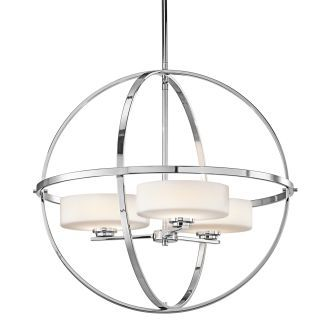 "View the Kichler Olsay 3 Light 22"" Wide Globe Style Shaded"