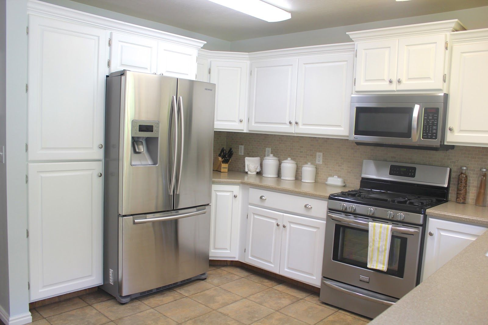 Best Beautiful Kitchens On A Budget Add Crown Moulding To 400 x 300