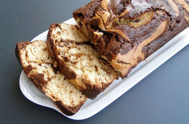 Recette du Cake Marbré au Nutella facile à réaliser ...