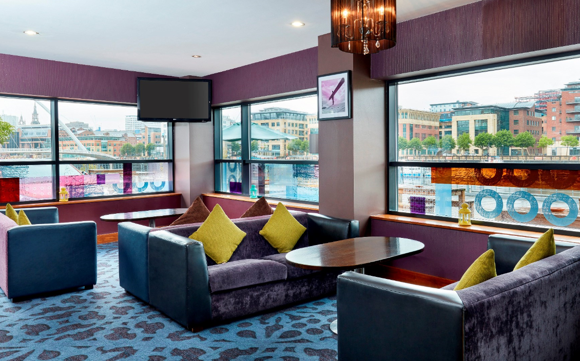 Newcastle Jurys Inn Newcastle Quays, Maximum Capacity