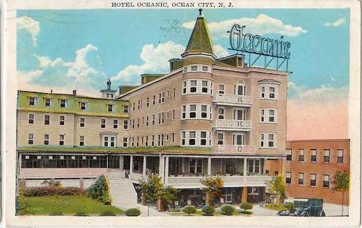 The Oceanic Hotel In Ocean City Nj Ocean City Ocean City Nj Bellevue Hotel