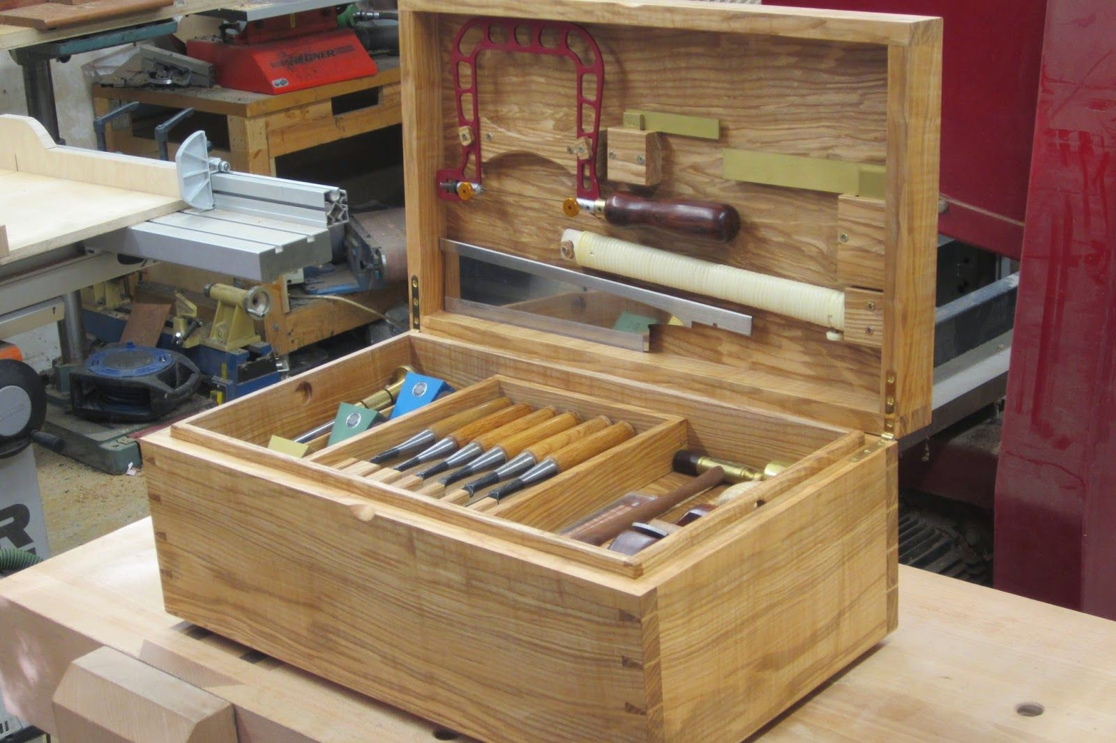 David Barron Furniture: New English Workshop Tool Chest
