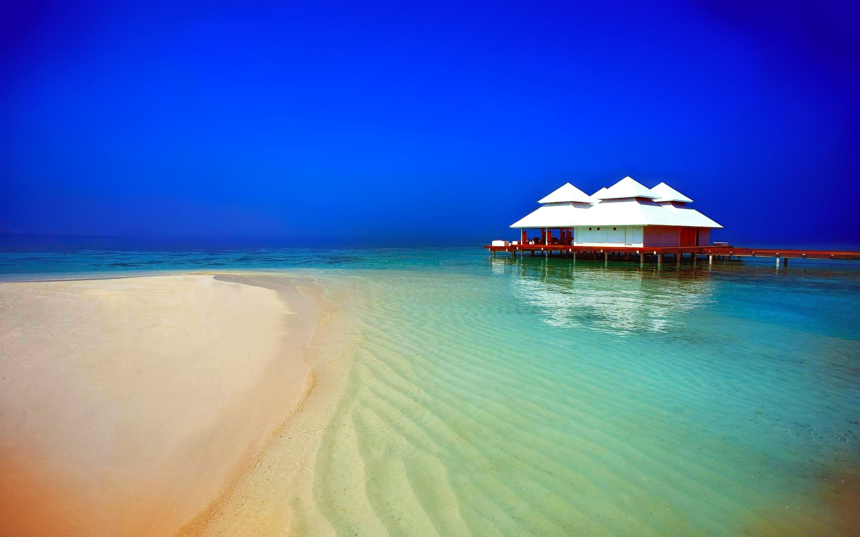 Tropical Island Beach Ambience Sound: Scenic Beach High Resolution Wallpapers
