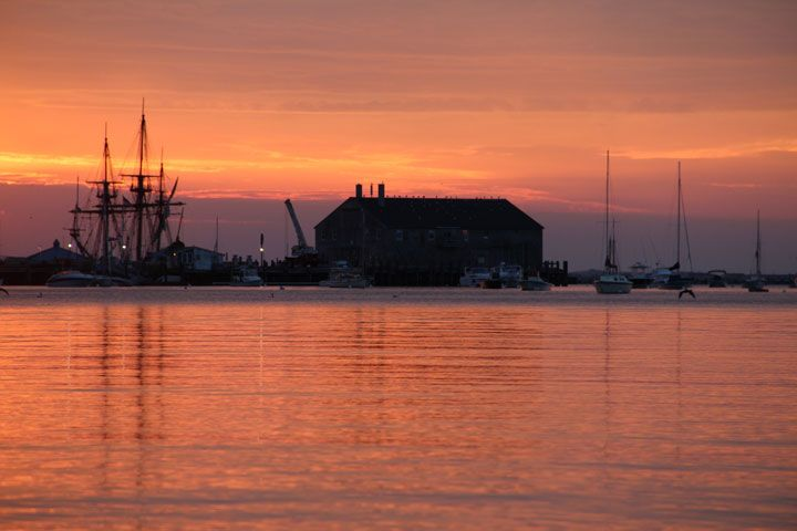 July 27, 2012 - Sunrise at the Boatslip, Provincetown