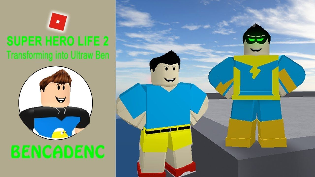Roblox Super Hero Life 2 Transforming Into Ultraw Ben Super Hero Life Roblox Superhero