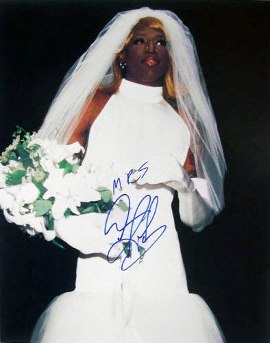 Dennis Rodman In Wedding Dress