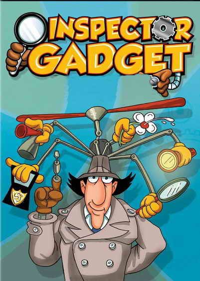Inspector Gadget (Serie de TV) (1983) Español | 80 caricaturas, Dibujos  animados clásicos, Personajes de dibujos animados clásicos