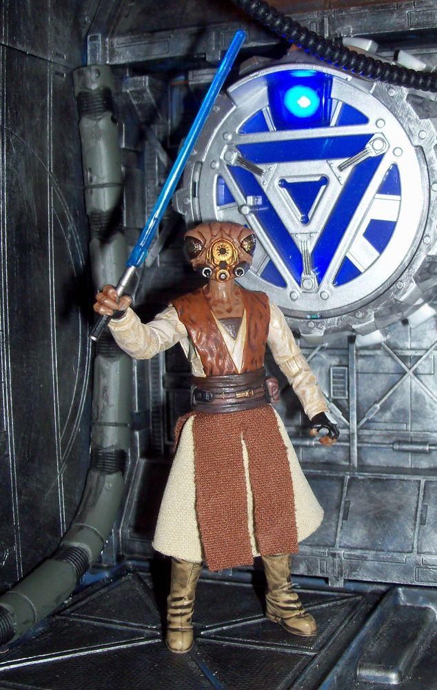 Star Wars Clone Wars Gand Jedi Master Borax Cortix custom figure #StarWars