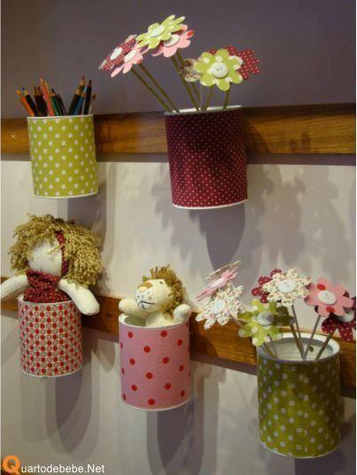 Volta As Aulas Pque Nao Organizar Reciclar Deixar Ambiente Harmoniozo Tin Can Crafts Diy Crafts Can Crafts