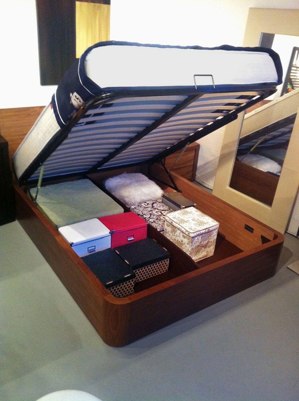 Walnut storage Condo Bed & Walnut storage Condo Bed | Vancouver Furniture | Pinterest | Storage ...
