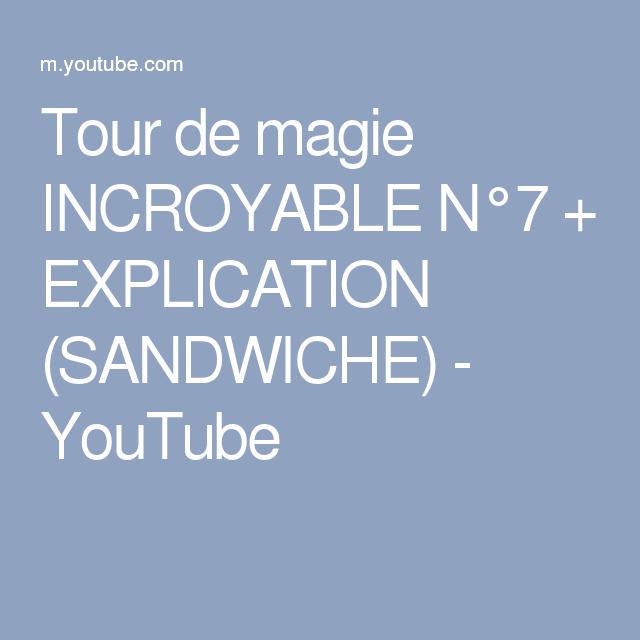 tour de magie incroyable 7