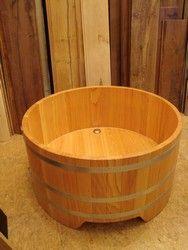 Baignoire Ronde En Bois Dell Bathroom