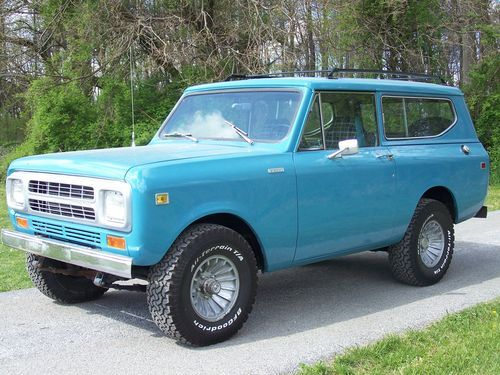 1980 International Harvester Scout Ii Scout Jeep Scout