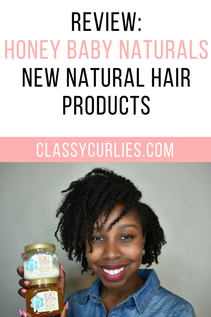 Honey Baby Naturals Releases New Hair Products - Review #organichaircare