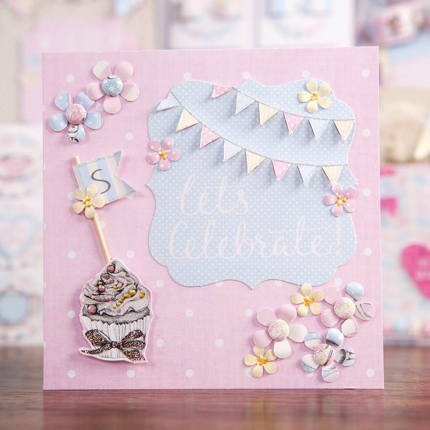 Letu0027s Celebrate! Lovely #card sample from the Love a Cuppa - greeting card format