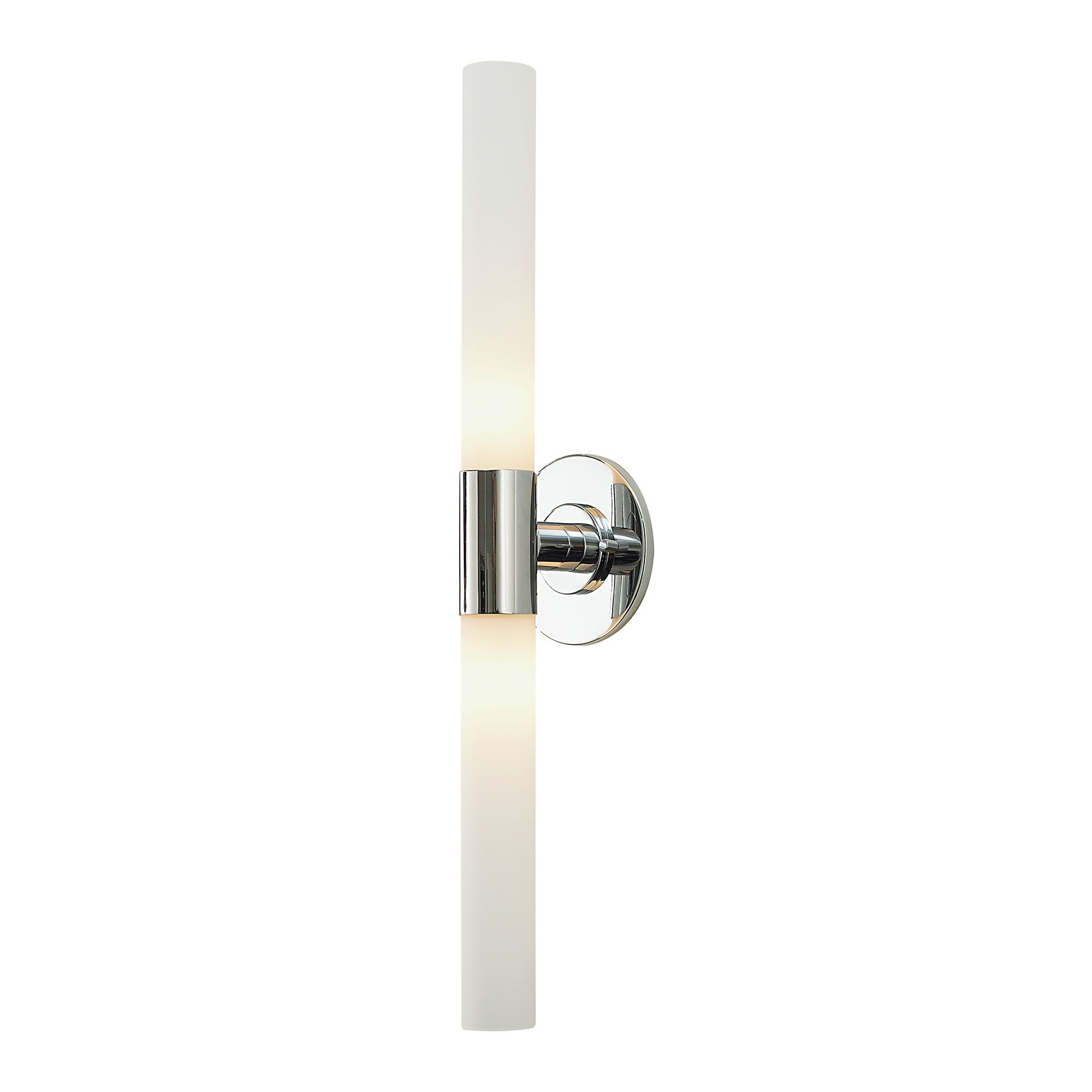 Long Double Cylinder Bath Vanity Light by Alico Industries $190. Matt satin nickel  sc 1 st  Pinterest & Long Double Cylinder Bath Vanity Light by Alico Industries $190 ... azcodes.com