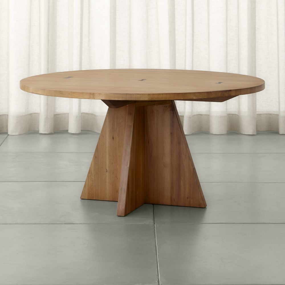 crate and barrel round dining table. Monarch 60\ Crate And Barrel Round Dining Table