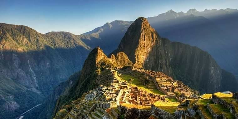 Camino del inca a machu picchu