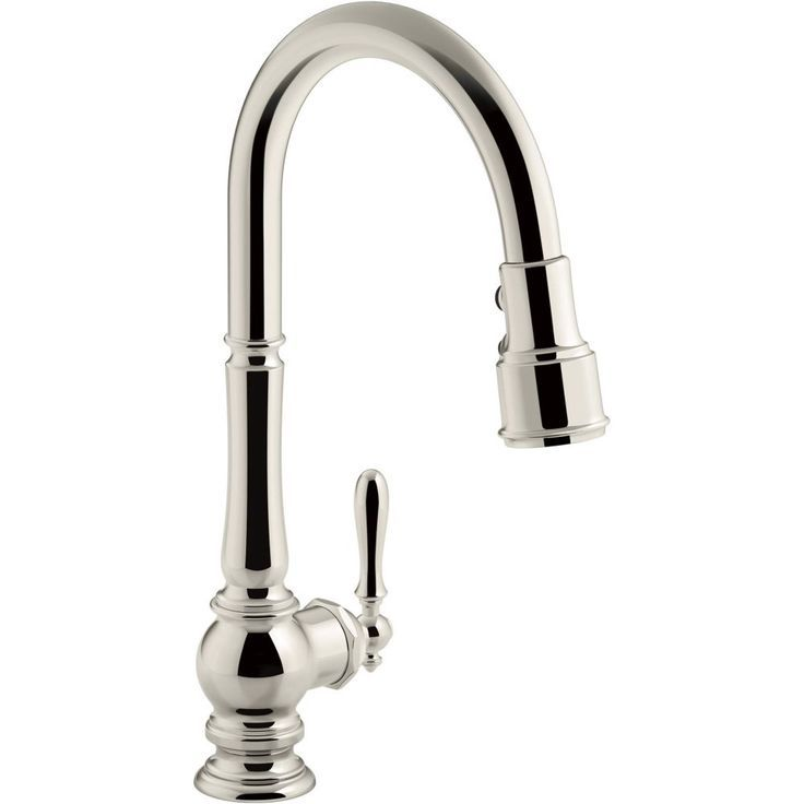 Kohler K99259Cp Artifacts Single Handle Pulldown Spray Kitchen Classy Single Handle Kitchen Faucet Review
