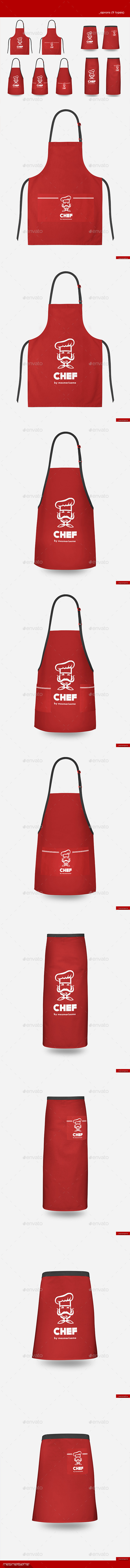 Aprons (9 Types) - Miscellaneous Apparel