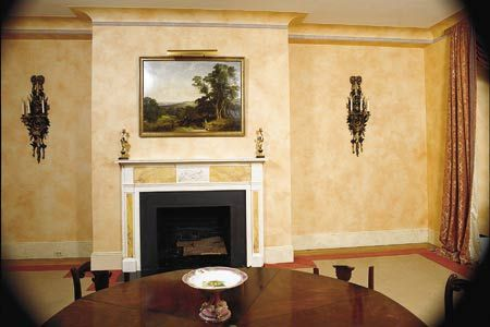 Home-Dzine - Paint walls with a two-tone patina for a rich ...