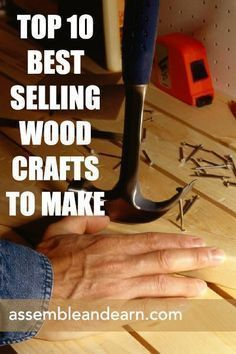 Career Infographic Top 10 Best Selling Wood Items To Make Remake