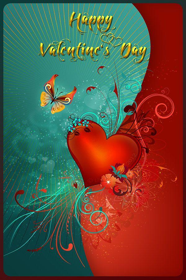 Valentine's Heart by Lilyas on DeviantArt