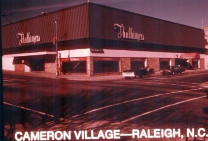 1975 Cameron Village Mall Of America North Carolina Homes Raleigh