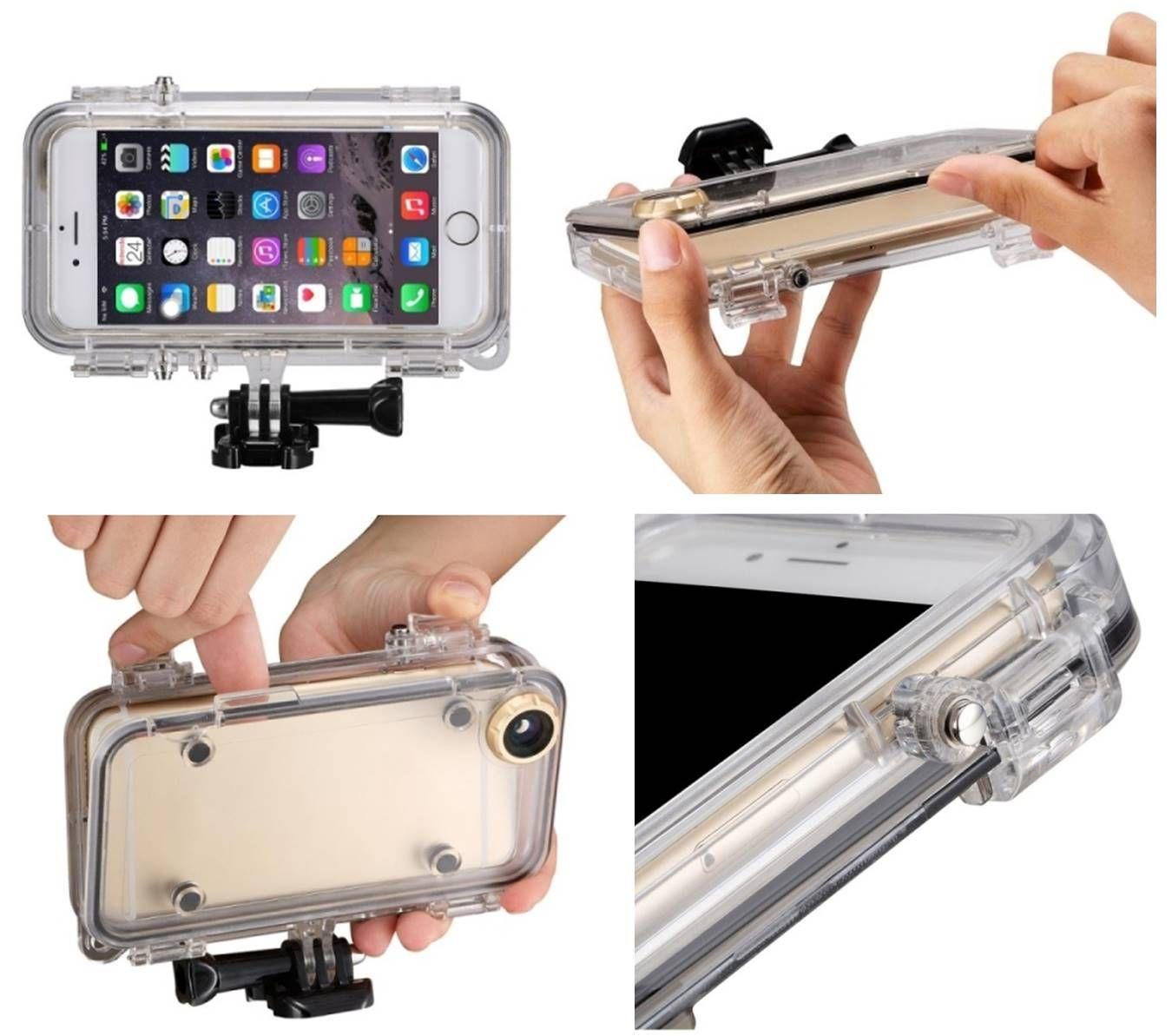 62eb65364f9 Fundas para moviles iPhone 6 carcasa sumergible resistente al agua.  Yougametronica.