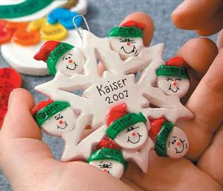 One-of-A-Kind Keepsake Salt Dough Ornaments