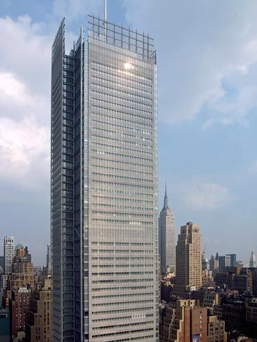 New York Times Building Ny Architecture Piano Renzo Pinned By Www Modlar Com City Architecture Architecture Renzo Piano