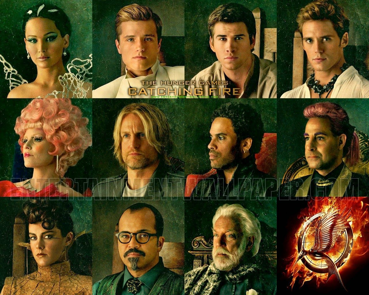 The Hunger Games Catching Fire Hunger Games Characters Hunger