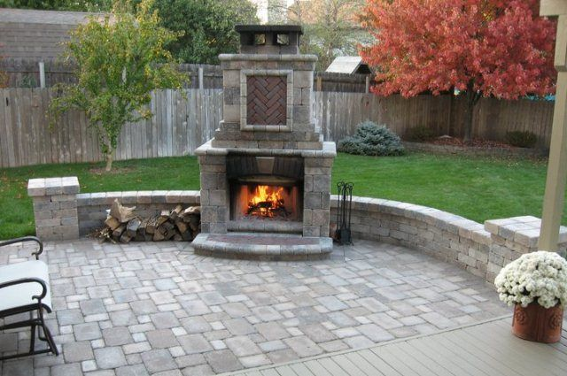 Custom Outdoor Fireplaces, Outdoor Grills, And Fire Pits/Rings   Dayton,  Columbus