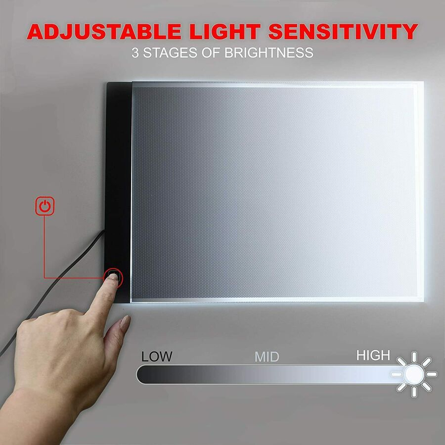 Picture Perfect Best Light Box For Tracing Ultra Thin Portable Led Light Pad In 2020 Portable Led Lights Light Box For Tracing Well Lights