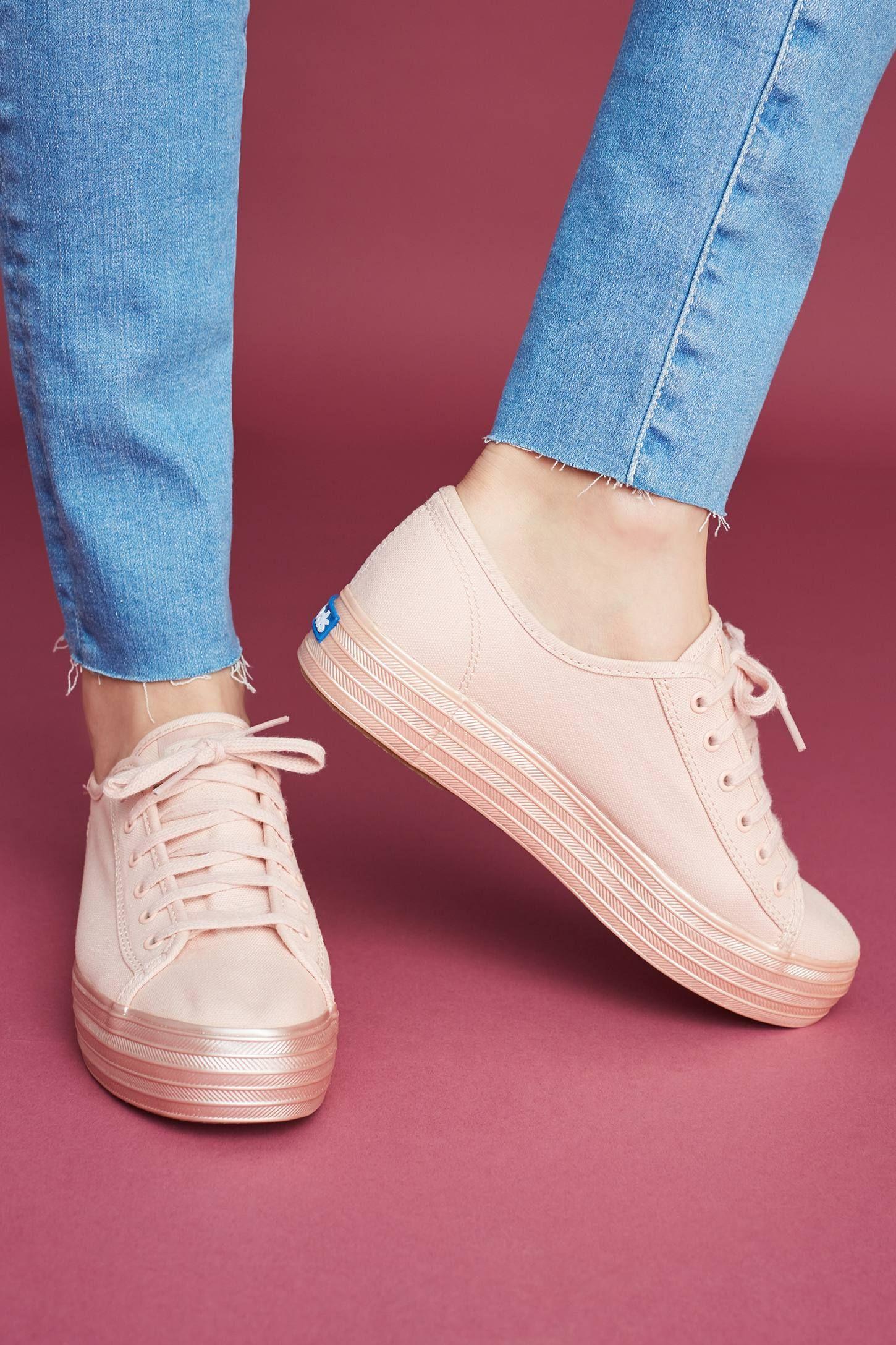 Keds Metallic Platform Sneakers | Keds